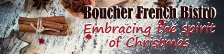 Boucher French Christmas Lunch