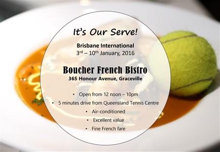 Boucher - Tennis BNE International