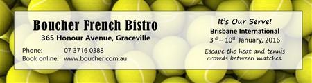 Boucher Tennis Brisbane International