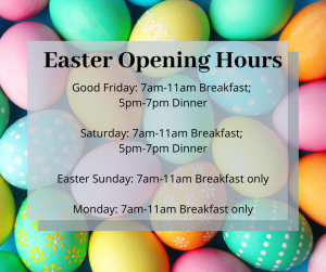 Easter Opening Hours Boucher